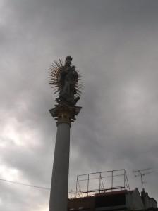 statue Brno